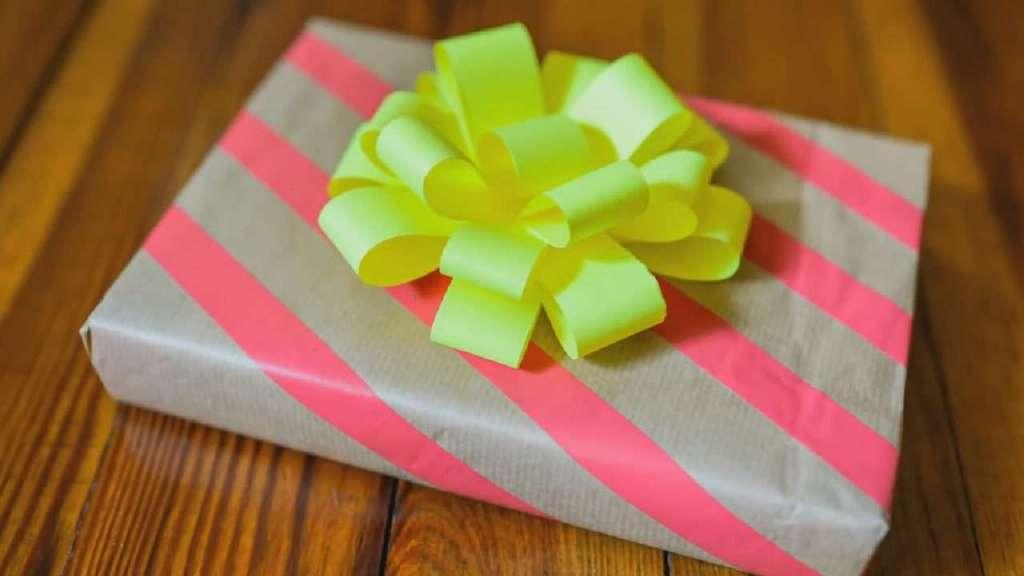 礼物包装漂亮方法图解视频,创意纸弓装饰