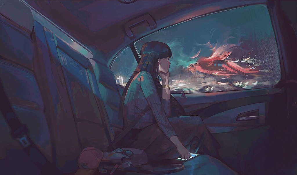 【P站画师】美国风景画师Klegs的插画作品- ACG17.COM