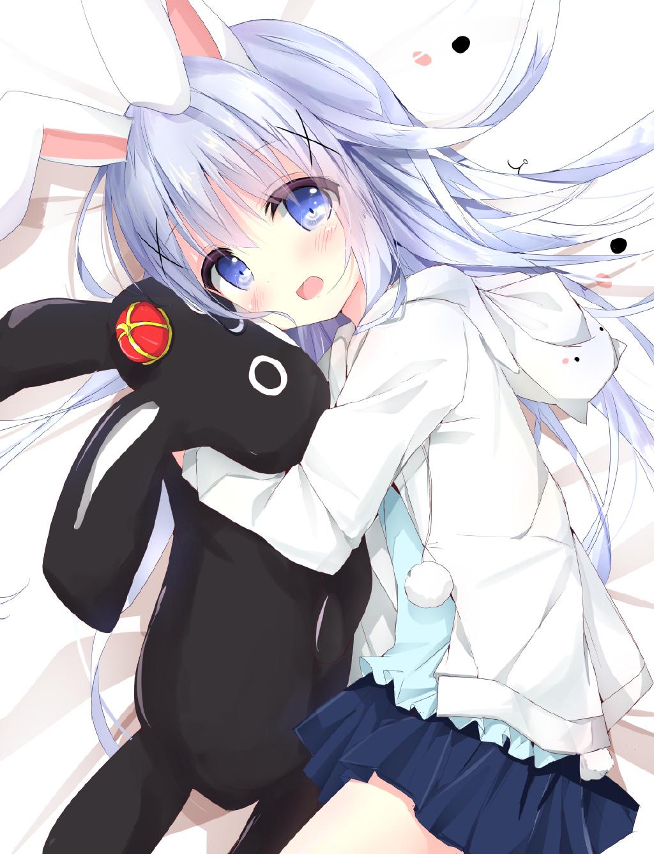 【P站美图】智乃酱太可爱了!《请问您今天要来点兔子吗?》香风智乃生日壁纸特辑- ACG17.COM