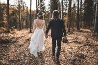 穿着结婚礼服的新郎新娘高清壁纸大全