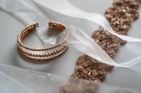 优雅高贵的钻石手镯高清特写图集