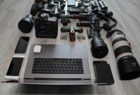 种类齐全的摄影设备精美图集