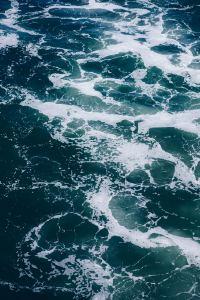宽广而深沉的海面精选壁纸