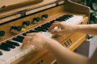 在黑白琴键上跳跃的双手精美图集