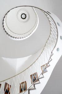 神秘而又奇特的螺旋式楼梯高清图集