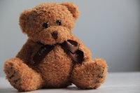 陪伴儿童的毛茸茸的玩具熊精美图集