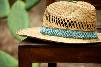 炎热夏季用于遮阳的草帽超清图集
