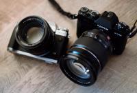 抓住美丽瞬间的富士微单相机广告图片