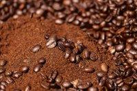 香醇浓郁的咖啡豆高清桌面壁纸