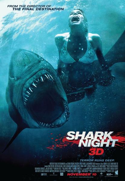 鲨鱼惊魂夜SharkNight3D