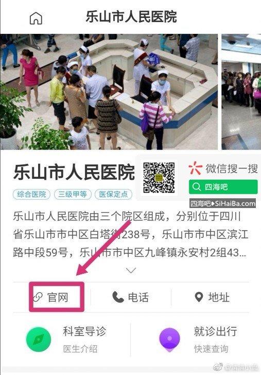 网传乐山市人民医院官网涉H,实为恶意注册站! 嗨头条 第2张