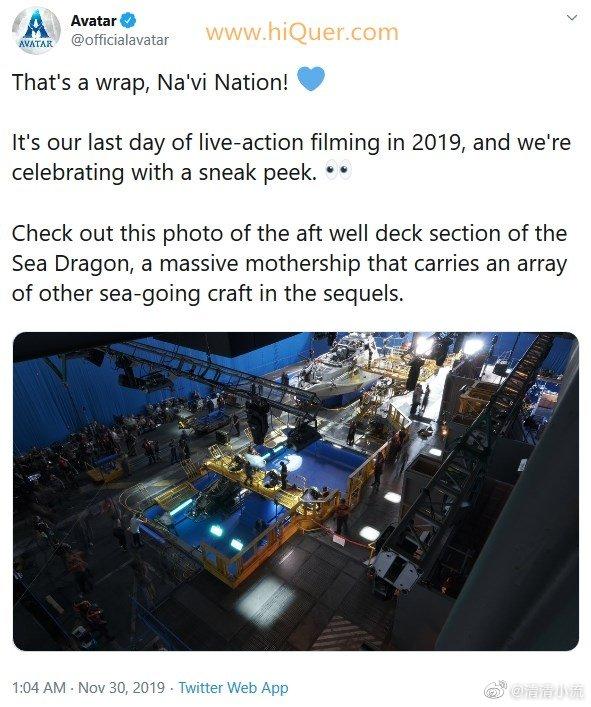 《阿凡达2》已完成真人拍摄:2021年上映 涨姿势 第1张