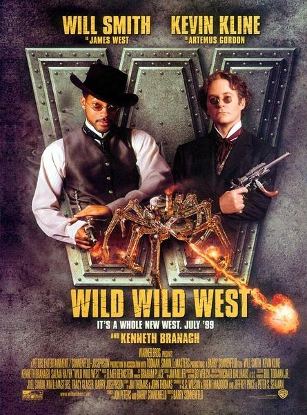 超智特務顯神通 / 狂野西部 / 超智特務 / Wild Wild West海報