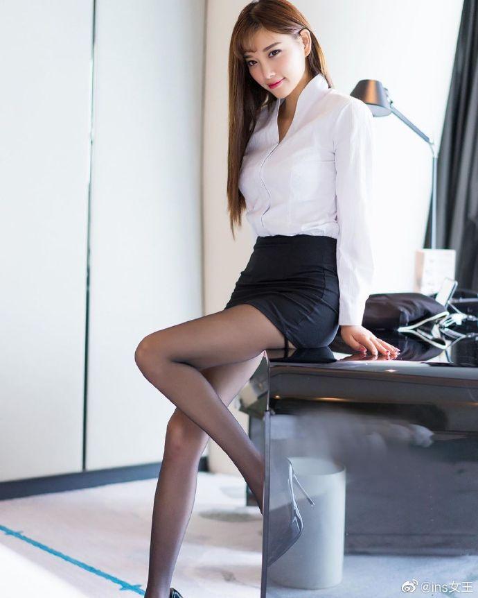 模特杨晨晨OL性感写真图片 性感美女 美女图片 第6张