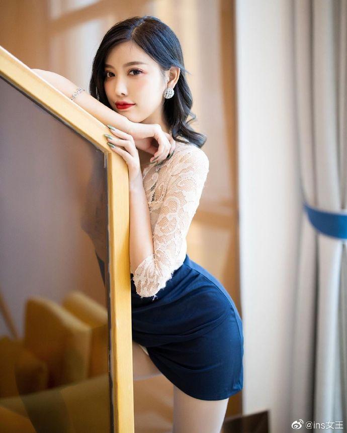 模特杨晨晨OL性感写真图片 性感美女 美女图片 第3张