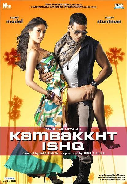 Kambakkht Ishq / 不可思議的愛海報