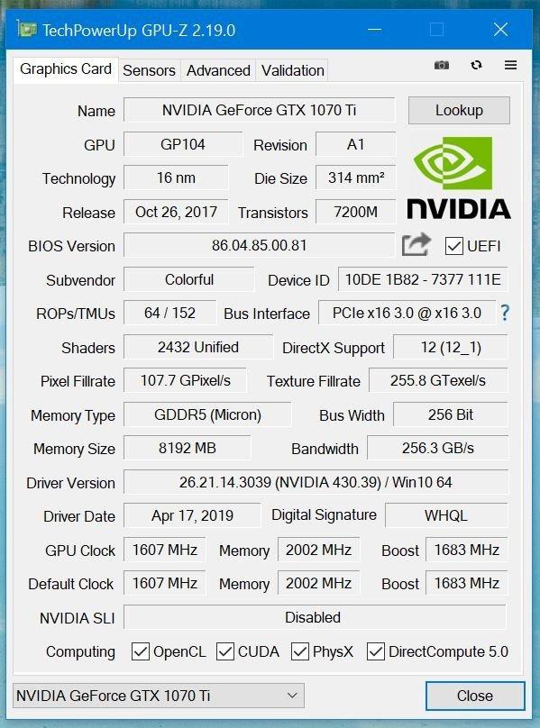 GPU-Z 2.19.0版发布:预告锐龙3000 APU
