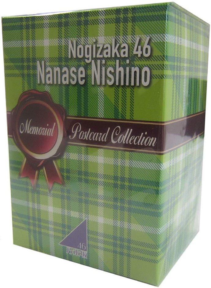 乃木坂46 西野七濑 纪念明信片Collection BOX