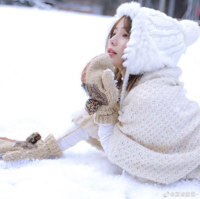 冬天里的雪花——夏妮酱酱-