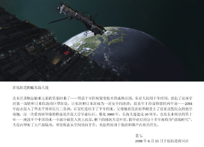 《中国2098》科幻系列