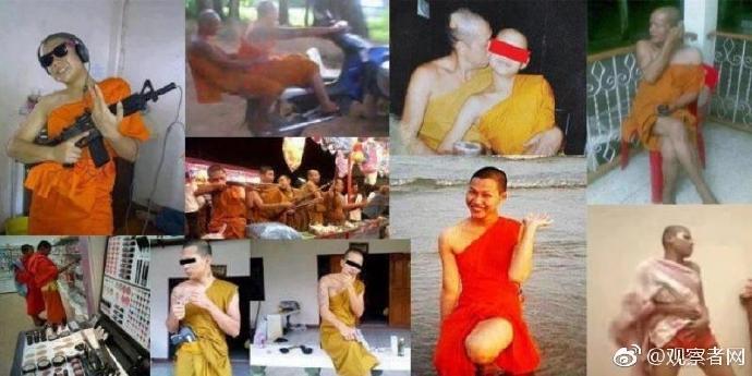 一名泰国前和尚被判114年