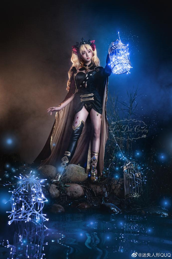 Cosplay艾蕾什基伽尔 华美的冥界女神 cosplay 美女cos 第3张
