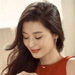 韩国顶级女神全智贤红色连衣裙性感私房照