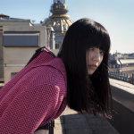 甜美的小清新模特小松菜奈户外艺术摄影图片
