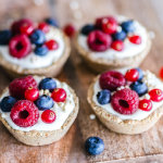 覆盆子蓝莓杯子水果蛋糕甜美诱人超清图集