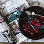 清新甜美水果蛋糕甜美浪漫创意精美壁纸