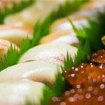 色味俱佳的日料之王寿司高清特写图片