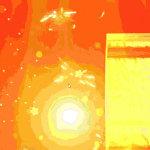 带灯笼的新年快乐视频素材gif动态图片