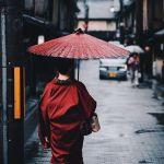 日本京都唯美古风摄影图片