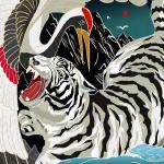 国潮传统文化手绘手机壁纸高清图片