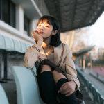 北京大学美女校花秦凤玲私拍照片
