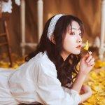 呼市第十八中学美女校花刘哲梅私房摄影