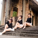 三人闺蜜写真风格人体艺术摄影