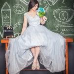 婚纱美女写真人体艺术摄影