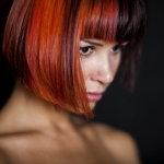 经典波波头短发发型人体艺术摄影