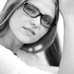 中分长直发美女发型人体艺术摄影