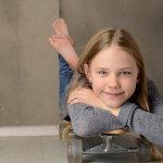 可爱小女孩头像超萌人体艺术摄影