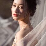 小仙女唯美婚纱人体艺术摄影