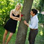 现实中浪漫求婚人体艺术摄影