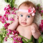 外国可爱小婴儿写真人体艺术摄影