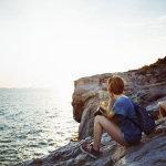 闺蜜自由行海边人体艺术摄影