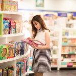商店清纯女生人体艺术摄影