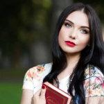 欧美红唇美女写真人体艺术摄影