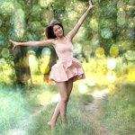 优美舞姿女生人体艺术摄影
