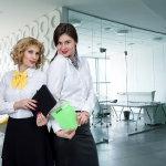办公室职业装美女人体艺术摄影
