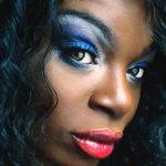 黑人美女面部彩妆人体艺术摄影